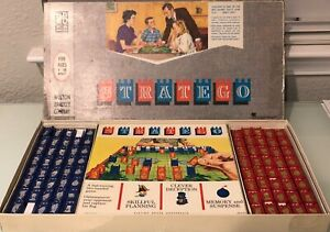 Stratego 1961 by Milton Bradley Replacement Pieces - Red or Blue Pick Your Piece