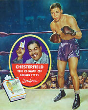 Joe Louis - Chesterfield Cigarette Advertising Poster, 8x10 Color Photo