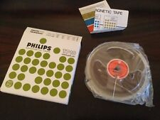 ¤¤ BANDE MAGNETIQUE VIERGE PHILIPS TP10 NEUVE ¤¤  MAGNETIC TAPE NEW OLD STOCK