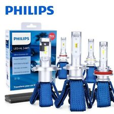 Philips Ultinon LED Kit 6000K White H7 Two Bulbs Head Light Low Beam Upgrade OE