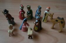 Pyramidenfiguren Christi Geburt Erzgebirge VEB Figuren Spieldose