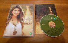 Paula Fernandes: Encontros Pelo Caminho (DVD, 2014) Portuguese live music RARE