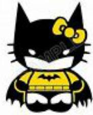20 water slide nail art Hello Kitty Batman 3/8 inch Trending