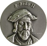 COOPER MEDAL OF D. JOÃO II THIRTEENTH KING OF PORTUGAL 1481-1495 / M53