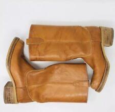 VTG 1970s Acme Dingo Campus Camel Boots Boho Festival - Mens 7.5/Womens 9.5-10