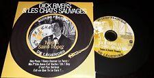 DICK RIVERS ET LES CHATS SAUVAGES RARE CD EFFET VINYL COLLECTOR ORIGINAL