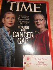 TIME MAGAZINE MARCH 30 2015 CLOSING THE CANCER GAP BRAND NEW