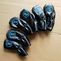 6x Long Neck Golf Wedge Headcover for Cleveland Mizuno 50 52 54 56 58 60 Degree