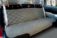 Solvit Premium Bench Seat Cover Grey 47 x 56 inches Quilted Waterproof