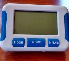 Mini travel multi alarm/ timer clock-- battery included