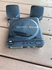 Sony DiscMan D-2 And Speakers for Parts