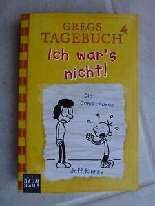 Taschenbuch Gregs Tagebuch 4 - Ich war's nicht! Jeff Kinney neuwertig