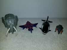 Lot of 4 Transformers Beast Wars Action Figures~Lazorbeak, Ironhide, Orcanoch