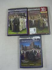 Downton Abbey Season 1 2 3 LOT DVD PBS (2 & 3 SEALED) + extras