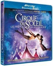 Cirque du Soleil : le voyage imaginaire COMBO BLU-RAY + DVD NEUF SOUS BLISTER