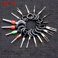 18 Pcs Car Wire Terminal Removal Wiring Connector Pin Extractor Puller Tools Set