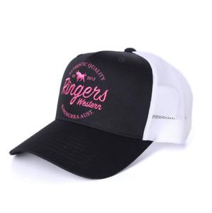 Boundary Black/Pink Trucker Cap Ringers Western