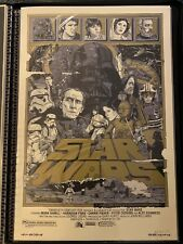 Tyler Stout STAR WARS: A NEW HOPE Variant Mondo Movie Poster Print Signed