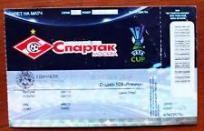 RARE TICKET biglietto Spartak Moskow Russia - Udinese ITALY 2008/2009 UEFA Cup