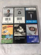 Lot Of Madonna, Johnny Mathis, Men At Work, Diana Ross, Olivia Newton Cassettes