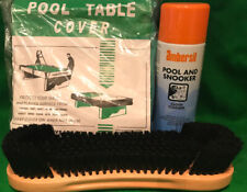 POOL TABLE BRUSH/CLOTH CLEANER/TABLE COVER (7x4) KIT