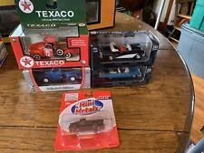 Lot Of 5 Diecast Cars & Trucks Road Signatures Texaco Pennsylvania Railroad