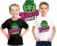 GUAVA JUICE T-SHIRT Youtuber Kids boys Girls Unisex Top Guava Juice Gift Tee Top