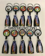 TATTOO  series Lighter Leash Clip Retractable * NEW * ( 5 ITEMS PER LOT )