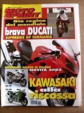MOTOSPRINT n°36 2001 Ducati Regina Superbike - Kawasaki ZX-9R ZX-6R   [P53]