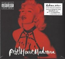 Madonna/Rebel Heart-Limited Super Deluxe Edition * New 2cd * NUOVO *