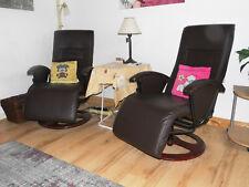 2 Stück Massagesessel Relaxsessel Fernsehsessel Sessel Heizung Kunstleder
