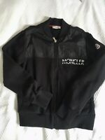 Authentic MONCLER Boys black beautiful cotton jacket 12Y Excellent Condition
