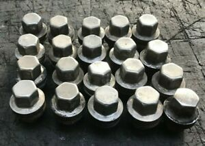 RANGE ROVER SPORT DISCOVERY 3 OR 4 CHROME WHEEL NUTS GENUINE x 20 2005 TO 2013