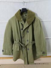 #8 US Army Mackinaw jacket over inverno coat JEEP GIACCA CAPPOTTO TAGLIA M film requisite