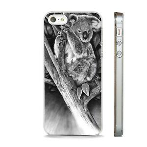 KOALA CUDDLY NATURE AUSTRALIA NEW PHONE CASE FITS IPHONE 4 5 6 7 8 SE PLUS X