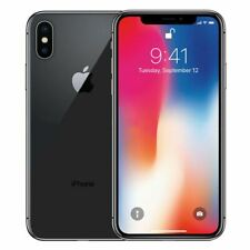 iPhone X (GSM)-64GB-Ohne Simlock-Smartphone-SPACE GREY-Generalüberholt A