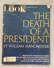 LOOK Magazine 4 Issue Special; Death of a President Jan/Feb/Mar 1967-RARE FIND!!