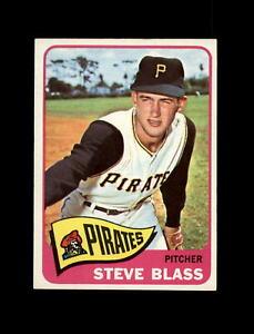 1965 Topps Baseball #232 Steve Blass (Pirates) NM