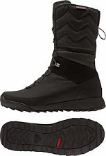 ADIDAS CHOLEAH HIGH CP WINTER SNOW BOOTS WOMEN'S SHOES SIZE US 7.5 BLACK AQ2020