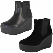 Wedge High (3-4.5 in.) Pull On Boots for Women