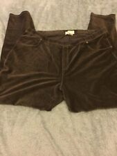 Ladies Micheal Kors Brown Trousers Size 3x