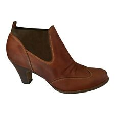Paul Green Ankle Boots Burnished Brown Paul Green Booties - Women's US 6M UK 4