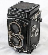 Rolleiflex TLR Film Camera DRP DRGM Carl Zeiss Tessar 75mm F3.5 Rare model