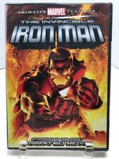 New Sealed Invincible Iron Man (DVD, 2007) Animated Marvel Features