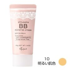 Ettusais BB Mineral Cream 10 Light Beige 40g SPF30 PA++ from Japan*