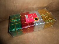 Christmas Gift Present Ornaments  New with Tag