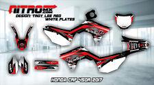 Honda CRF 450R 450 R 2017 17 Graphics Kit Decals Design Stickers Motocross MX