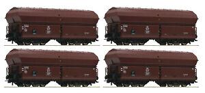 Roco 67083, 4-tlg. Set: Selbstentladewagen, DB, Neu und OVP, H0
