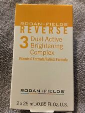 New in Box Rodan + and Fields REVERSE Step 3 Dual Active Brightening Complex