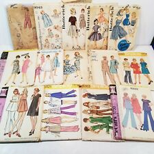 14 Vintage Sewing Patterns Junk Drawer Lot Mixed Media Collage Art Ephemera (A)